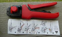 Molex 638118200 F Crimping Hand Tool 22 30 Awg