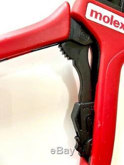 Molex 638118200f Ratchet Hand Crimp Tool