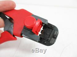 Molex 638118700b Crimping Hand Tool Sl 22 36 Awg & Locator Crimp 63811-8700b