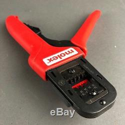 Molex #63819-0800-B Hand Crimp Tool 22-30 AWG Type 4D Crimper