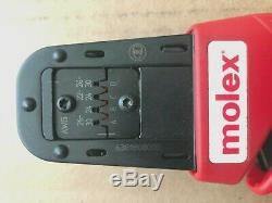 Molex 63819-0800 Ratchet Hand Crimp Tool, 207129 Series 638190800D, 638190800