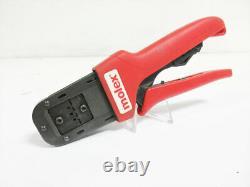Molex 638190000 C Hand Crimp Tool 20-30 Awg W 638190075 Locator 63819-0000