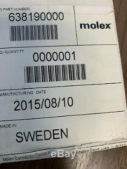 Molex 638190000 Crimping Hand Tool 20 30 Awg & Locator Crimp 63819-0000b