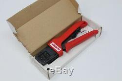 Molex 638190000b Crimping Hand Tool 20 30 Awg & Locator Crimp 63819-0000b