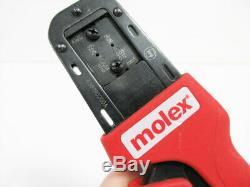 Molex 638190200a Hand Crimper Tool 22-28awg Side 63819-0200a