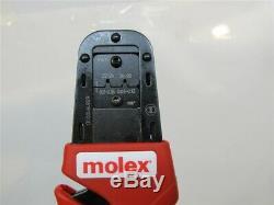 Molex 638191000, Mini Fit Jr. 28 22 AWG Wire Terminals, Hand Crimp Tool