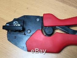 Molex 640010400j Rht-1994 Hand Crimp Tool Ratchet # 10 22 Awg 64001-0400