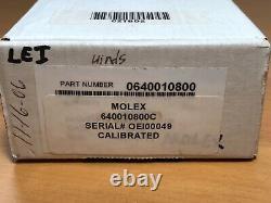 Molex 640010800c Rht-5760 Hand Crimp Tool Ratchet # 22 18 Awg 64001-0800