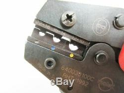 Molex 640030100c Rht-1192 22 10 Awg Hand Crimp Tool No Locator 64003-0100 C
