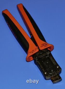 Molex Crimper 63827-9570 Hand Crimp Tool 18-24 AWG With 63816-0000