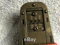Molex Crimpers Hand Crimp Tool 20 30 AWG 63819 0000 C
