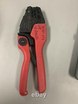 Molex (EDP# 11-01-0199) ENG# CR60670B Hand Crimp Tool