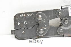 Molex HTR8519B Hand Crimper/Crimping Tool 11-01-0118 22-24AWG, 24-30AWG