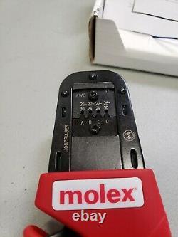 Molex Hand Crimp Tool 63811-8200 Type 4D