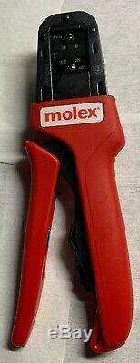 Molex Hand Crimp Tool 638194300a 28-30 Awg