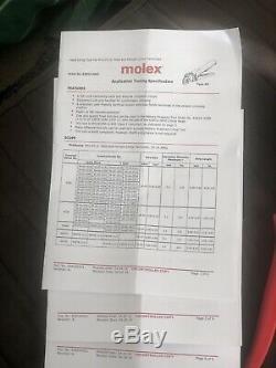 Molex Hand Crimp Tool Electricians Use 6381909 16-18 20-24 Awg