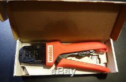 Molex Hand Crimping Tool 63811-8700B 22-24 32-36 AWG