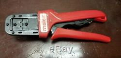 Molex Hand Held Ratchet Crimp Tool 22-28AWG 63819-0200