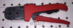 Molex Micro Fit Hand Crimp Tool model 638190000B Awg 2224, 20, 2630 Micro-Fit