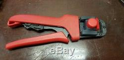 Molex Premium Grade Hand Held Ratchet Crimp Tool 16-24 AWG 63819-0000C