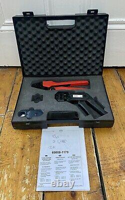 Molex SEMCON Hand Tool Kit 69008-1170 With Carry Case Bang & Olufsen MasterLink