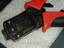Molex hand crimp tool Micro-Lock 504185 Ser. 26 28 30 AWG 63827-6900 638276900