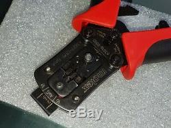 Molex hand crimp tool Ultra-Fit 172253 Series 16 18 AWG 63827-5300 638275300