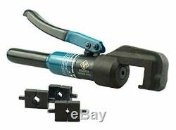 Muzata Custom Hydraulic Hand Crimper Tool for Stainless Steel Cable Railing Fitt