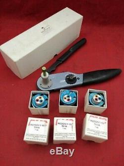 NEW DEUTSCH HDT-48-00 Crimp Tool, Hand, 20-12AWG Terminals, DT Series