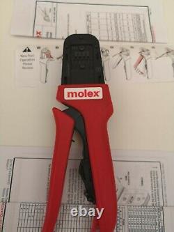 NEW Molex 638118200 Hand Crimp Tool 2.54 kk