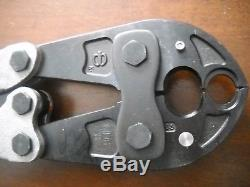 New Burndy MD6-8 Hytool Hand-Operated Crimper O D3 Groove Crimping Tool MD68 MD6