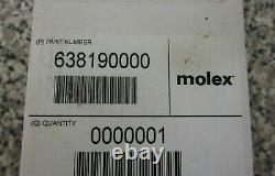 New Molex 638190000 63819-0000 Micro-Fit 3.0 Crimp Terminal Hand Crimper Tool