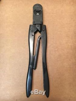 New USA Amp 90071 Type F Ratchet Hand Pin Terminal Crimp Crimping Tool 26-20 Awg