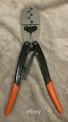 OTP Ratchet Wire Press 13 Hand Crimping Tool For 10, 16, 25, 35, 50 AWG