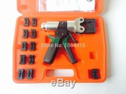One hand crimping tools 12 AWG to 300 MCM 4 to 150 mm2
