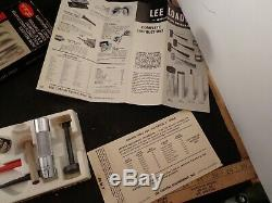 Org. Lee Loader 410 3 Hand Reloading Tool Kit Box & Manual Missing 8 Seg. Crimp