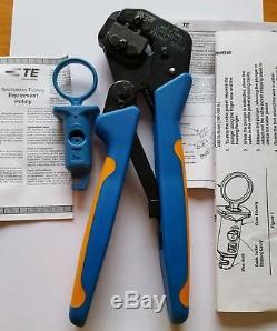 PRO-CRIMPER III HAND CRIMPING TOOL ASSEMBLY 790163 & TE Jacknack Tool 2119000-1