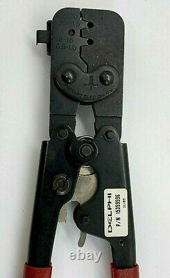 Packard Delphi Ratcheting Wire Crimp Hand Tool Merti Pack GT150 Locator Crimping