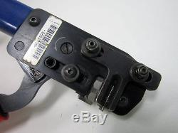 Panduit Ct400 Hand Tool Disconnect Splice Insulated Terminals Crimp 14 22 Awg