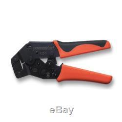Pressmaster Crimp Tool Versatile Self Adjusting Hand Tools Full Cycle Bi-moulded