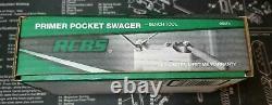 RCBS Primer Pocket Swager Bench Tool NEW Military Pockets De-Crimped 09474 9474