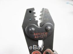 Raychem Ad-1377 Hand Crimp Tool 26 12 Awg