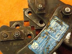 Rota Crimp 600850 Rota-CRIMP Hand CRIMPING TOOL 8-4/0 Awg Solid Strand / Battery