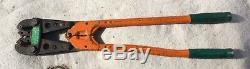 Rota-crimp Hand Crimping Tool 600850-1 600850 Amp Products Made In USA