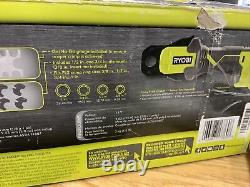 Ryobi Crimp Ring Press Tool Only 18v Dual LED Lights One Handed PEX ONE+ P661
