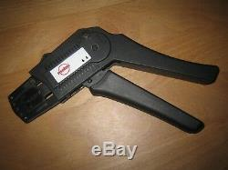 Spezial Werkzeug Molex Crimpzange Parallel Hub Handtool Handzange 69008-0982 AWG