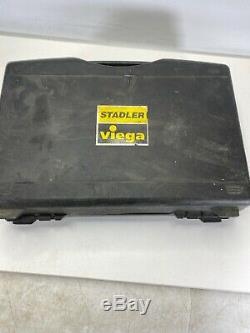 Stadler Viega Pureflow 1/2, 3/4 Hand Crimping Tool With Case