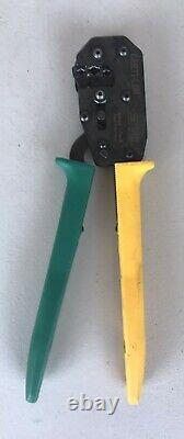 TE Connectivity CERTI-LOK Hand Crimp Tool 169400 With Crimping Dies 169404 Germany