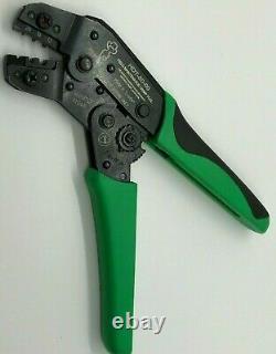 TE Deutsch HDT-50-00 Crimp Tool Crimper Wire Contact Hand Ratcheting 20-12 AMP