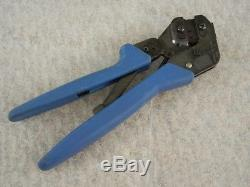 TYCO PRO-CRIMPER III Hand Crimping Tool Crimper, 20-28 AWG, Good Condition